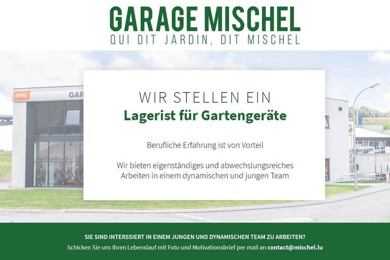 Offre d'emploi - Magasinier / Lagerist