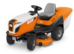 RT 5112 Z Puissant tracteur tondeuse avec plateau de coupe synchrone